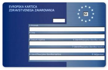 Evropska kartica zdravstvenega zavarovanja, varovanje zdravja v tujini